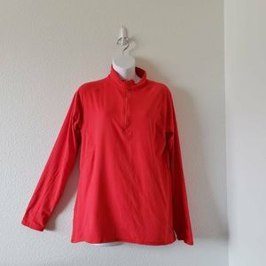 Mountain Hardwear Womens Pullover Top Red XL